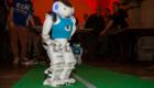 STADT LICHT + VERKEHR 2019, Robo-Show, Spieler am Start